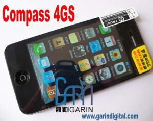 China Compass 4GS 3.5'' HD screen Wifi Quadband Dual sim Mobile Phone on sale
