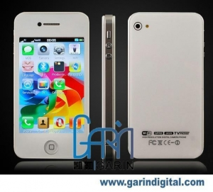 China iPhone H6 Dual SIM Dual Standby iPhone 4 MSN WIFI TV JAVA Quad-band Mobile Phone on sale