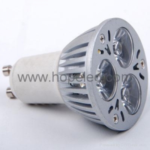 China High Power 3 1w LED Bulb GU10 led spot light on sale
