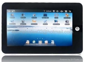 China 7 TFT Touch Screen Google Android OS+WIFI Laptop with Camera on sale