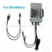 China Blackberry FM Hands-free car kit FM transmitter on sale