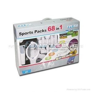 China Sports Pack 68in1 for Wii Accessories on sale