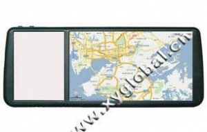 China 7inch rear mirror car GPS navigation (High defination touch screen) (XY-9807) XY-9807 on sale