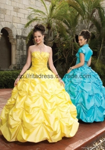 China Quinceanera princess gown ball gown P-11 on sale