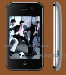 China ZOHO V706d Quad Band Dual Cards Wifi DVB-T TV Java Touch Screen Cell Phone on sale