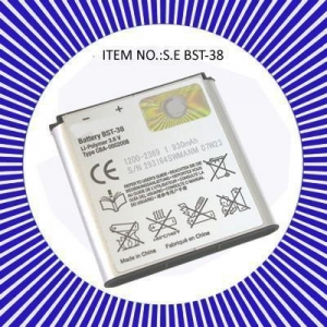 China mobile phone battery for sony ericsson BST-38 on sale