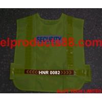 China EL Wire Safety Vest EL Lighting Vest ( HNR 0082 ) HNR 0082 on sale