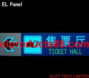China EL Glow Panel EL Lighting Up Sheet EL Plate Electroluminescent ( HNR 0029 ) HNR 0029 on sale