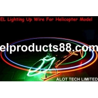 China EL Neon Wire Helicopter Model Airplane ( HNR 0108 ) HNR 0108 on sale