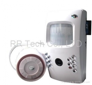 China Motion Detector Alarm Color Hidden Camera With DVR For Home on sale