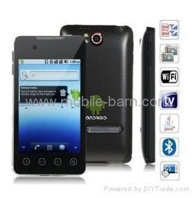 China Quad Band Dual Cards Android 2.2 With WiFi Agps Analog TV Smart Phone A9000 on sale