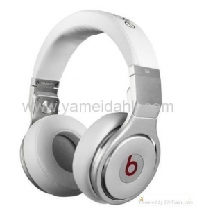China White Beats Pro by Dr.dre Headphones Headsets DJ Headphones High-Definition HD on sale