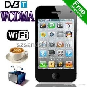 China Zoho W302d Dual Active SIM GSM WCDMA DVB-T TV WiFi 3G Cell Phone on sale