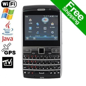Quality Free Shipping W72 Dual SIM Windows Mobile 6.5 TV Smart Phone with WIFI Java GPS for sale