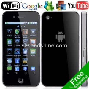 China New Unlocked Android 2.2 WIFI TV AGPS Smart Phone H2000 on sale