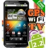 China A2000 GPS WIFI 4.3