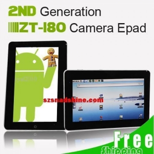 "Quality Free Shipping 10"" ZENITHINK ZT180 ANDROID 2.2 TABLET WIFI FLASH 10.1 for sale"