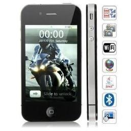 China C12 iPhone 4 Copy Phone GSM+CDMA Dual SIM Wifi GPS Java Capacitive Multi-touch on sale