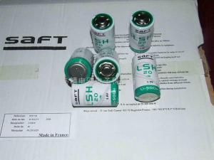 China France SAFT Lithium Battery LSH20 LSH20 on sale