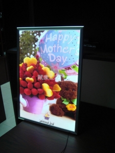 China LED slim light box (export) on sale