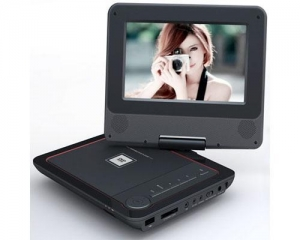 China 7.0-inch TFT LCD Portable DVD Player with 180-degree rotation on sale