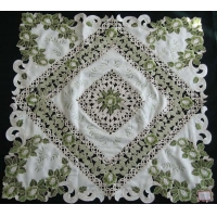Machine Embroidery Table Cloth