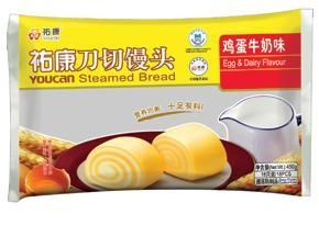 China Steamed bread  Milk & egg flavor on sale