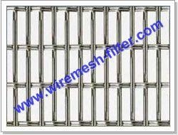 China Hookstrip Flat Screen Architectural Mesh Architectural Mesh on sale