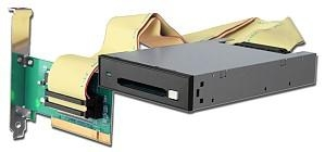 China PCC01(PCI to CardBus/PCMCIA PC Card Adapter + 3.5 Card Drive) on sale