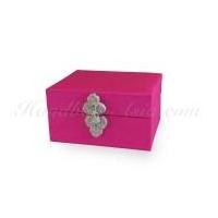 Pink Thai Silk Box