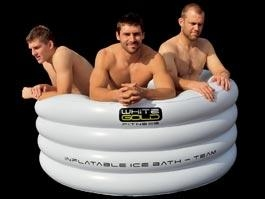 China Rugby equipment, ice baths,inflatable ice bath for sport, inflatable cold bath,sports injuries,portable ice bath on sale