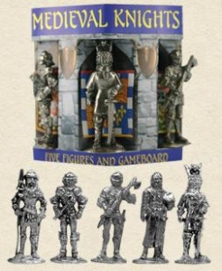 China Medieval Knights - 5 Figure Box Set on sale