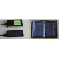 Portable Solar AA/AAA Battery