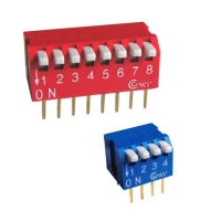 China DIP switch piano type dip switch (2pos to 12pos)document.title+='| piano type dip switch (2pos to 12pos) |'; on sale