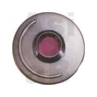 Smile Jean button with Arcylic stone