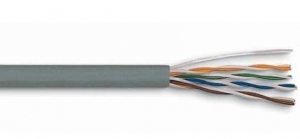China Lan Cable 4 PAIR 24AWG CAT.5E UTP CABLE on sale