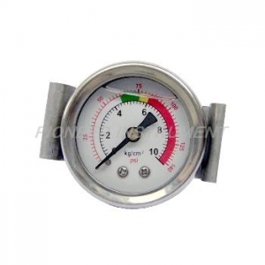 China > Mechanical type pressure gauges > Liquid Filled Pressure Gauges Series > 1.5-Inch axial bracket mounting type filled liquid pressure gauges on sale