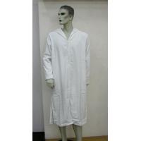 China Bathrobe Bath robe 18 100% COTTON WHITE TERRY VELOUR ZIP FRONT HOODED  ROBE on 77ab8adeb