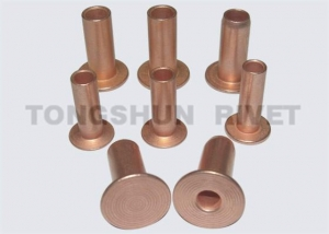China Steel rivet(Copper plated) on sale