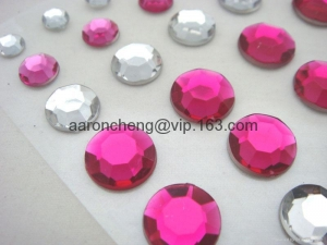 China Static sticker acrylic sticker,phone sticker,crystal stickers,Pearl stikcer on sale