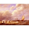 China Sail boats(262) Willem_A_Sea_Piece for sale