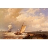 China Sail boats(262) A_Dutch_Pink_Heading_Out_To_Sea_With_Shipping_Beyond for sale