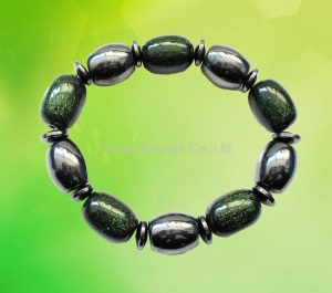 China Hematite Magnetic Jewelry Hematite Magnetic Bracelet on sale