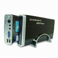 """3.5""""HDD Player/Recorder 3.5-inch HDD Player with Card Reader and USB Host Functions, Supports PAL and NTSC System"""