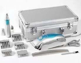 China Tool Case ALUMINUM CASES FOR NICKY CLARKE CERAMIC GROOMING SETThis Case casecan be putthe below products.Hair Clipper AC motor barber shop clipper for full cutting power Ceramic blades Mains usage Stylish finish 5 Cutting guides for length on sale
