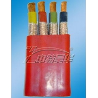 Flat Cable Mobile-resistant silicone rubber insulated high-voltage flat-resistant&n silicone rubber insulated high-voltage cables