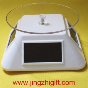 China ROTARY DISPLAY GLORIFIER SOLAR POWERED TURNTABLE JZM-544 on sale