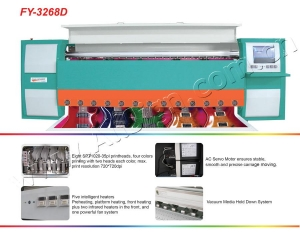 China Large Format PrinterInfinity Solvent Printer FY-3268D on sale
