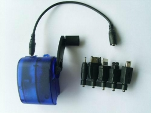 China Sloar Flashlight Hand cranking charger on sale