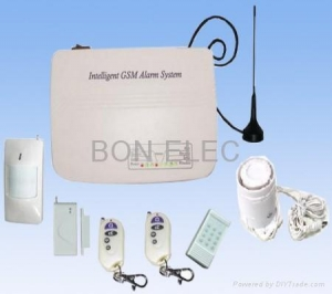 China wireless GSM auto-dial home alarm system on sale